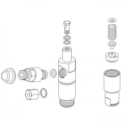 diesel spare P2-01016 0431212028