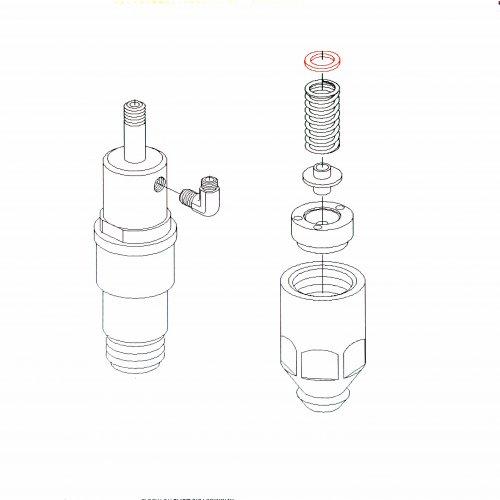 diesel spare P2-01110 0431214004