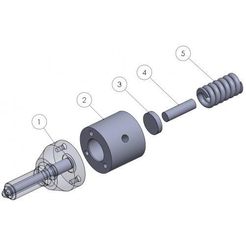 diesel spare PRK0000BD 8991055