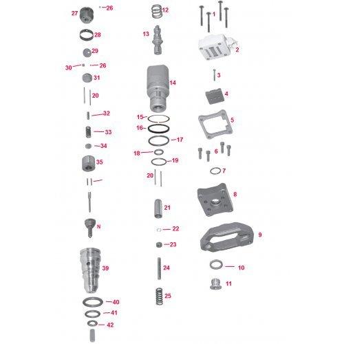 diesel spare A1-23792 8991106