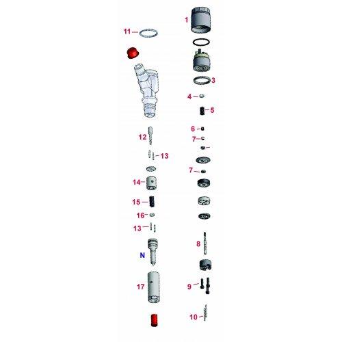 diesel spare A4-15250