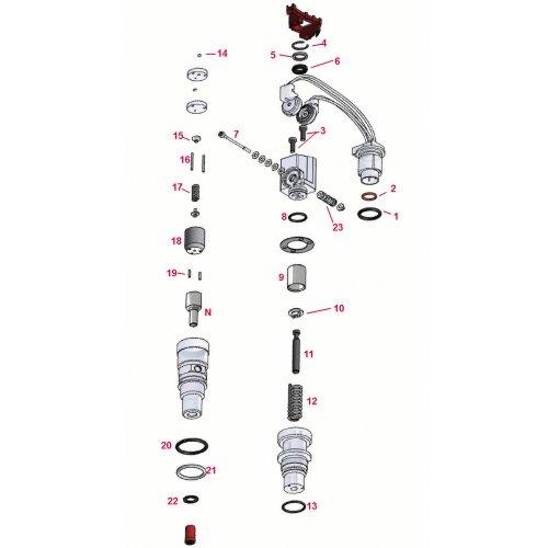 Repair Kit Complete Injector Ford Powerstroke 6.0 / 4.5  euro diesel