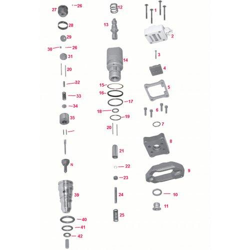 Repair Kit Internal Injector Navistar - Ford Powerstroke 7.3  euro diesel