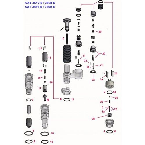 Solenoid Screw  euro diesel