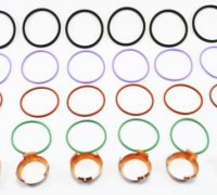 CUMMINS ISX/QSX INJECTOR SEAL OVERHAUL KIT, NEW A1-23968S 1441237