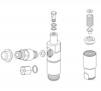 Complete Injector Body P2-01088 0431213021