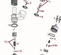 Injector Pressure Spring CAT 3406E  A1-23878