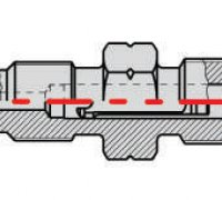 Inlet Connector P2-07025 Stanadyne 29416