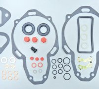 Minimec - Simms Gasket kits A1-09110/1 Simms 506804