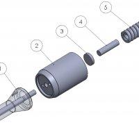 Nozzle Kit CAT 3508B - 3512 -  3512B PRK00800D