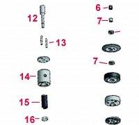 Pressure Spring CAT Injector C6.6  A1-23883
