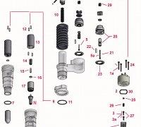 Screw Solenoid Injector CAT 3516E A1-23605
