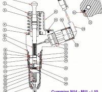 Solenoid O'Ring Cummins N14 - L10 - M14 A4-15320