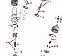 Solenoid Screw Injector CAT 3406E  A1-23479