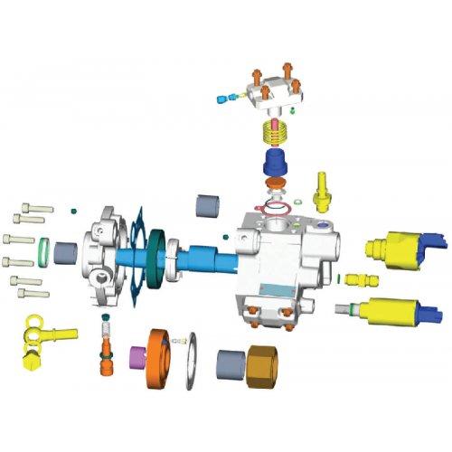 VDO Pump Repair Kit DW 10TD  2.0 X39-800-300-002Z euro diesel