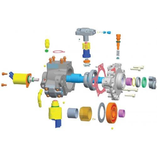 VDO Pump Repair Kit DW10 BTED - DV4 TD X39-800-300-019Z euro diesel